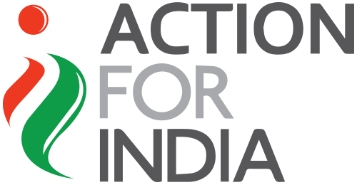 Action For India logo